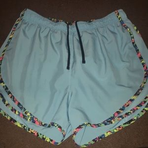 Nike teal shorts believe it's a medium